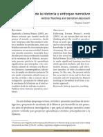 3241 - Cuesta - Enseñanza de la historia y enfoque narrativo.pdf