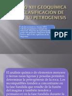 Capítulo Xiii Geoquímica en La Clasificación de Rocas