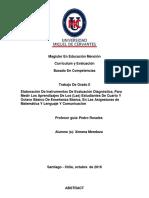 Magíster En Educación Mención Currículum y Evaluación Basado En Competencias