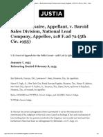 18 Rosaire v National Lead Co.pdf