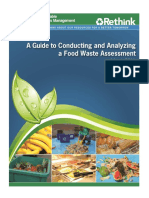 epa food waste assessment guide
