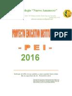 PROYECTO EDUCATIVO INSTITUCIONAL 2016.docx