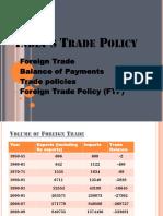 Trade Reforms