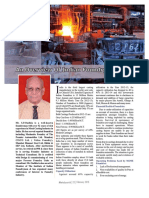 An Overview of Indian Foundry Industry