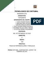 TRAZO DE PERPENDICULARES Y PARALELAS