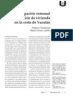 Innovacion de Vivienda en La Costa de Yucatan
