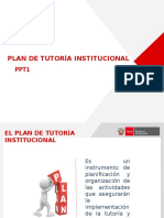 Plan de Tutoria Institucional 13-1-16