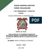 Matriz de Consistencia Benito