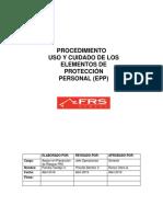 PROCEDIMIENTO EPP rev 0.docx