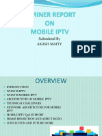 Seminer Report on Mobile Iptv