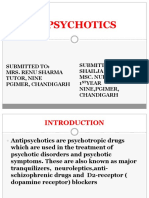 Antipsychotics