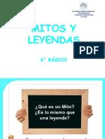 MITOS Y LEYENDAS 6°