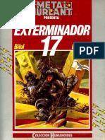 Exterminador 17 Bilal Esp
