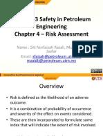 Chapter 4 RiskAssessment