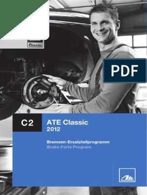2x Bremsscheibe Bremse ATE 24.0122-0126.1