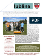 Clubline - The Caldy Sports Club Newsletter - Issue 4