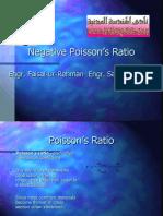Negative Poisson's Ratio