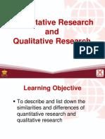 3 Quantitative Research and Qualitative Research