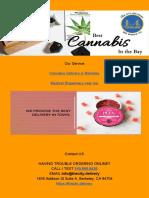 Cannabis Delivery in Berkeley