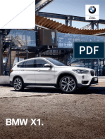 Ficha Técnica BMW X1 SDrive18iA Executive 2019