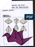La Importancia de Leer y El Proceso de Liberación - Paulo Freire (2)