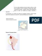 Diseño Del Plan de Ruta y Red Geografica