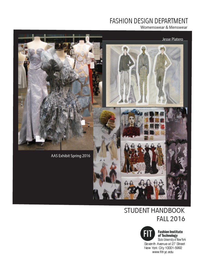 Fashion Design Student Handbook Pdf Graphic Design Fashion