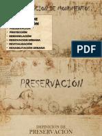 Restauracion de Monumentos Ppt