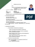 Curriculum Vitae Actual 2018 Victor