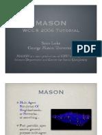 MASON Tutorial Slides