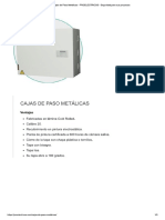 Cajas de Paso Metálicas - PROELECTRICOS - Seguridad Para Sus Proyectos