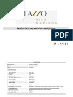 Tv - Palazzo Vila Mariana 2019.03 - 162B