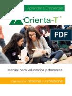 Manual Orienta-T. Fundación Junior Achievement