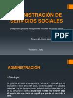 Administración de Servicios Social