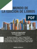 El Mundo de La Edición de Libros (Cap. 1)