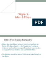 Ch-4ethics From Islamic Perspective
