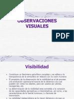 Cap Ix - Observaciones Visuales