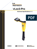 VLoc3 Pro Technical Specifications VXMT MSP