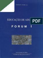 Educação de Adultos - Forum I