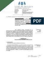 CAROLINA YONG RUIZ - CONTRADICCION - EJECUCIÓN DE ACTA - REGIMEN DE VISITA.docx