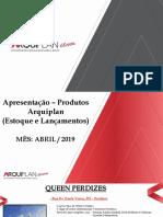 Apresentação Produtos Arquiplan Parcerias - Abril 19