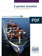 ISM and ISPS Checklist