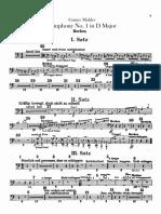 Mahler Symphony No. 1 Cymbals