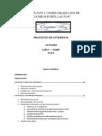 Proyecto Inversion Negocio