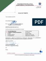 CERTIFICACION 2010-2011-32 ENMIENDA CALENDARIO
