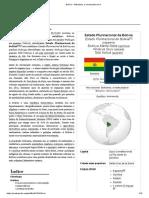 Bolívia – Wikipédia, A Enciclopédia Livre