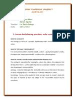 Essay Deontology Aguilar Mora