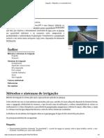 Irrigação – Wikipédia, A Enciclopédia Livre