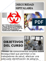 Bioseguridad Hosp. IPERB, EPP, Residuos