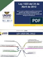 1- Ley 1523 Del 2012- Atualizado 2017